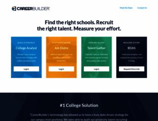 college.careerbuilder.com screenshot