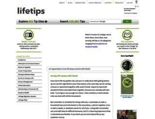 college.lifetips.com screenshot