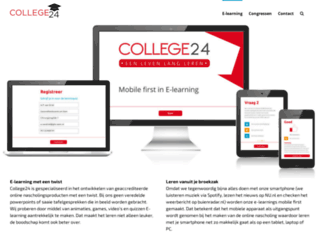 college24.nl screenshot