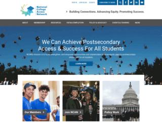 collegeaccess.org screenshot