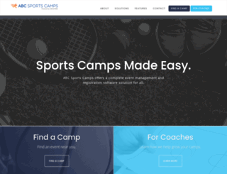 collegebaseballcamps.com screenshot