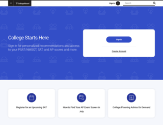 collegeboard.com screenshot