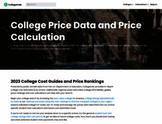 collegecalc.org screenshot