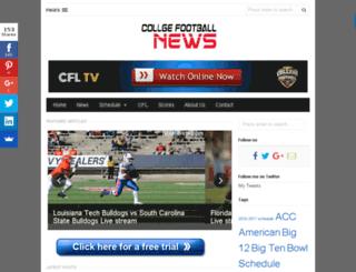collegefootball-live.com screenshot