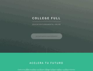 collegefull.com screenshot