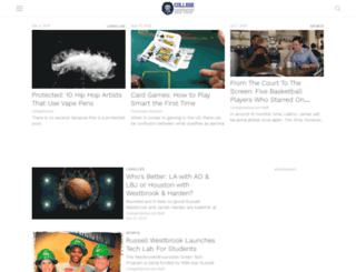 collegehiphop.com screenshot