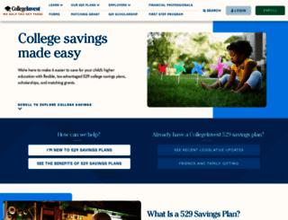 collegeinvest529.com screenshot