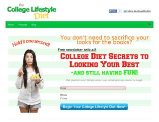 collegelifestylediet.com screenshot