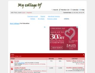 collegeof.info screenshot