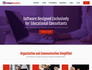 collegeplannerpro.com screenshot