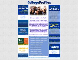 collegeprofiles.com screenshot