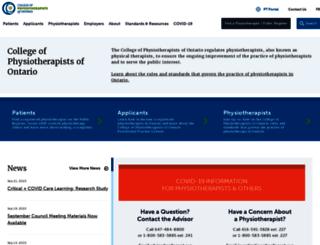 collegept.org screenshot