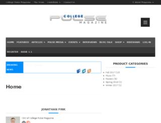 collegepulsemag.com screenshot