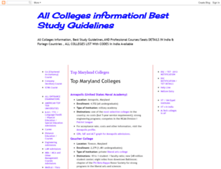 collegesforall.blogspot.com screenshot