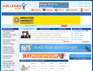collegesinap.com screenshot