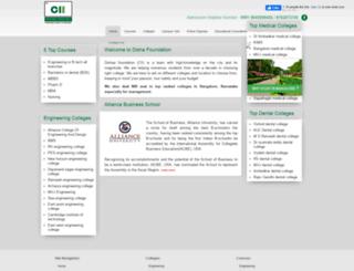 collegesindiainfo.com screenshot