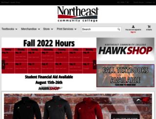 collegestore.northeast.edu screenshot