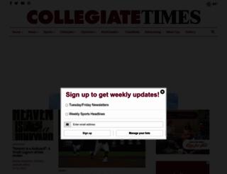 collegiatetimes.com screenshot