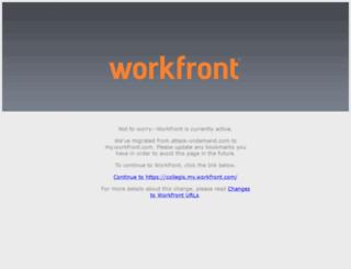 collegis.attask-ondemand.com screenshot