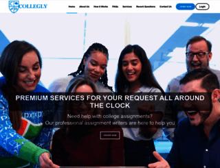collegly.com screenshot