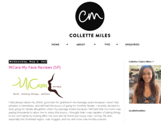 collettemiles.blogspot.sg screenshot