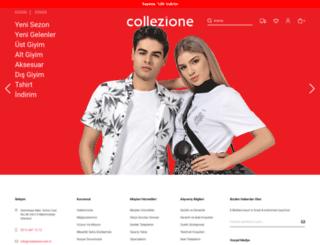 collezione.com.tr screenshot