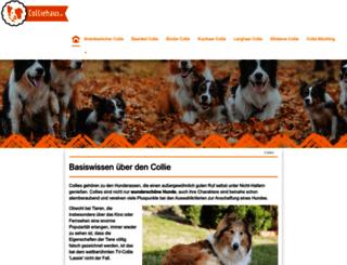 colliehaus.de screenshot