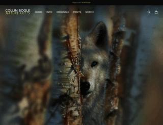 collinbogle.com screenshot