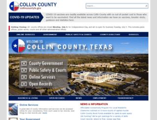 collincountytx.gov screenshot