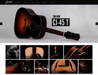 collingsguitars.com screenshot