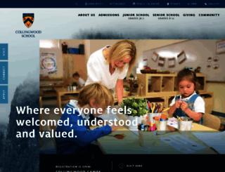 collingwood.org screenshot