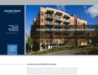 collinscircle.com screenshot