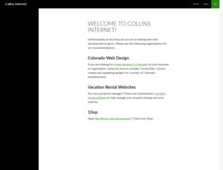 collinsinternet.com screenshot