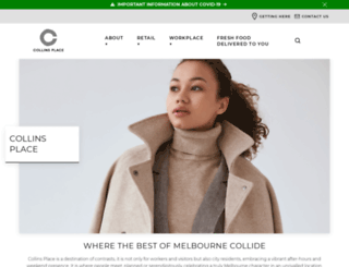 collinsplace.com.au screenshot