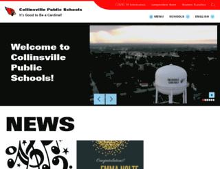 collinsville.k12.ok.us screenshot