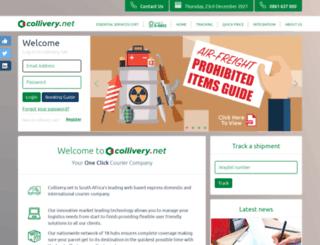 collivery.co.za screenshot