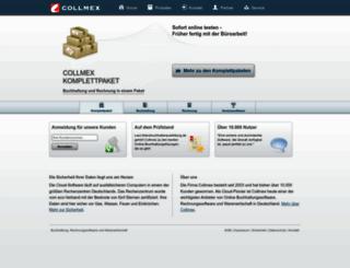 collmex.de screenshot