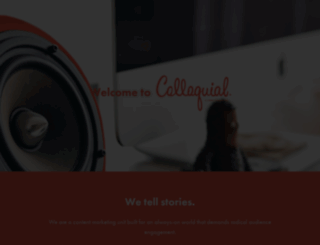 colloquial.com screenshot
