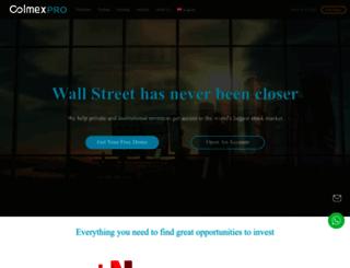 colmexpro.com screenshot