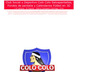 colocolo.pages3d.net screenshot