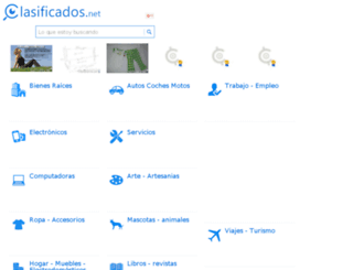 colombia.clasificados.net screenshot