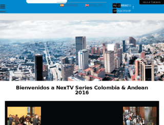 colombia.nextvsummit.com screenshot
