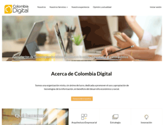 colombiadigital.net screenshot