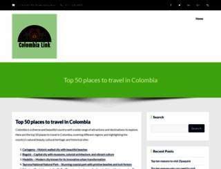 colombialink.com screenshot