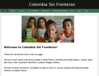 colombiasinfronteras2011.weebly.com screenshot