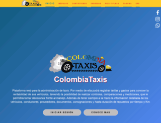 colombiataxis.com screenshot