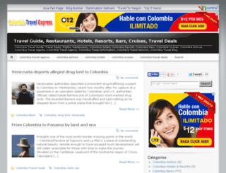 colombiatravelexpress.com screenshot