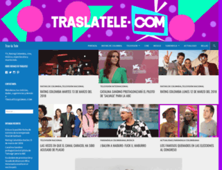 colombiatv.wordpress.com screenshot