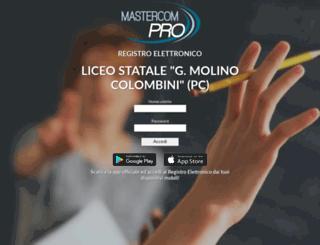 colombini-pc-sito.registroelettronico.com screenshot