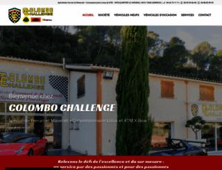 colombochallenge.fr screenshot